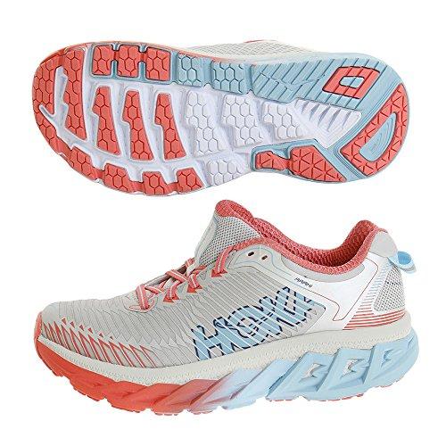 HOKA ONE ONE Arahi Running Shoe - Micro Chip/Dubarry - Womens - 6