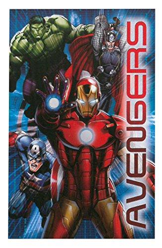 DSL Group (Nottingham) Ltd Fleecedecke für Kinder, Kinderdecke mit Cartoon-Motiv Avengers