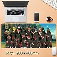 大型 NARUTO -ナルト- アニメ mouse pad マウスパッド ゲーミング マウスパッド 耐久性 滑り止め ゲームオフィステーブルマット 900x400x5mm