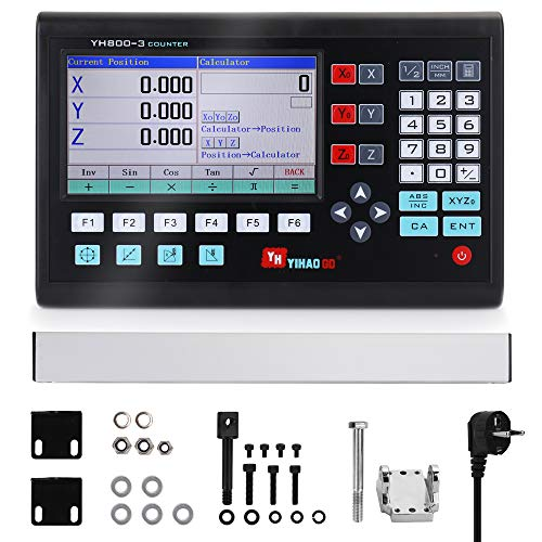 KKmoon 7 Zoll LCD-Großbildgitter CNC Digitalanzeige Drehmaschine Bedienfeld Steuerplatine Gravierfräsmaschinen-Steuerungssystem