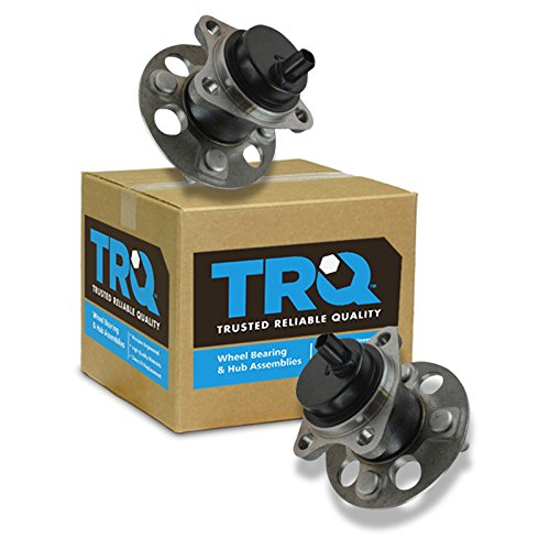 TRQ Wheel Bearing & Hub Assembly Pair LH & RH Rear for Toyota Yaris Prius C