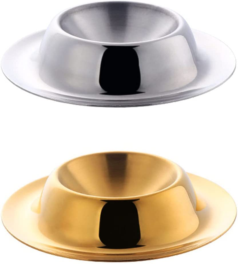 DOITOOL 2pcs Ranking Don't miss the campaign TOP2 Metal Egg Cup Stainless Holder Steel