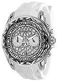 Technomarine Men's Technocell Stainless Steel Quartz Watch with Silicone Strap, White, 24 (Model: TM-318001)
