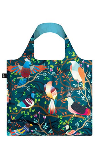 LOQI Artist Hvass & Hannibal Birds Bag Strandtasche, 50 cm, 20 liters, Mehrfarbig (Multicolour)