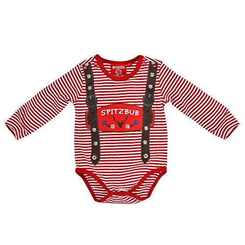 BONDI Baby Jungen Trachten-Body Spitzbub Artnr. 91330 Größe 62