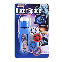 Toys For Kids Torch Projector Wall Torch And Projector Light Bedtime Story Educational Toy,Perfect Party Favor Stocking Fillers Great Educational Toy Gift For Toddlers Outerspace