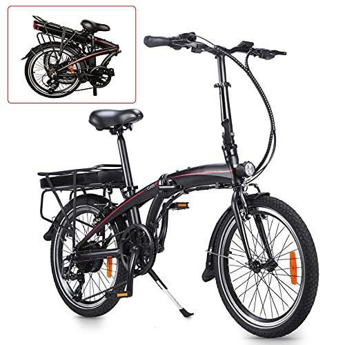 Bici Pieghevole Bike City bike elettrica City bike elettrica pneumatici da 20 pollici Bicicletta pieghevole per adulti dotata d