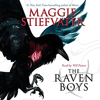The Raven Boys                   Written by:                                                                                                                                 Maggie Stiefvater                               Narrated by:                                                                                                                                 Will Patton                      Length: 11 hrs and 8 mins     57 ratings     Overall 4.3