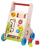 Lelin Toys - 31302 - Véhicule Pour Enfant - Chariot À Pousser Multi-Activités 7 En 1