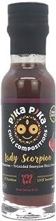 Waldbeeren mit Trinidad Scorpion Chili Sauce / Inhalt 100 ml. / Schärfegrad: 8 von 10 für echte Scharfistas Slow Food Chilisaucen Manufaktur EINWEG
