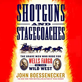 Shotguns and Stagecoaches audiobook cover art