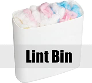 Tomorotec Lint Holder Bin Magnetic Attachment for Laundry Room, Dryer, Washer, Kitchen Storage Organize