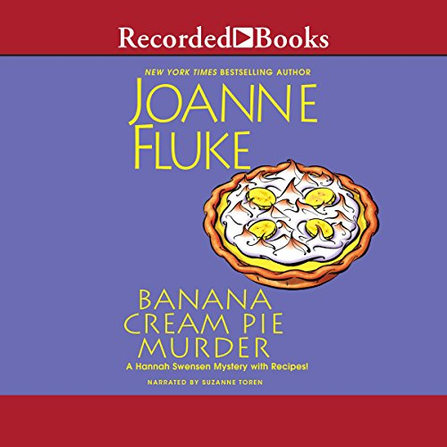 Banana Cream Pie Murder audiobook cover art