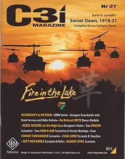 RBM Studio GMT: C3i Magazine #27 Including Soviet Dawn Solitaire Board Game