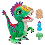 FurReal - Munchin' Rex Dinosaur inc Treats - Plush Pets - Interactive Kids