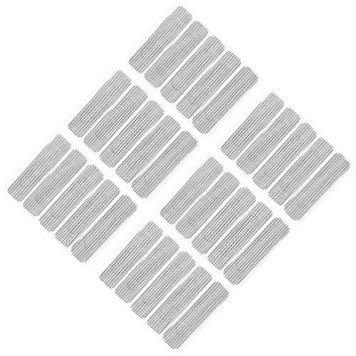 Yardwe 10-Teiliges Reparaturset für Fenstergitter Reparaturband gegen Mückenschutz für Türgitter Terrassentürnetz nach Hause 6. 2 * 1. 5Cm