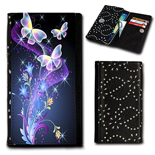 Book Style Flip Handy Tasche Hülle Schutz Hülle Foto Schale Motiv Etui für Haier Voyage V3 - Flip SU1 Design8