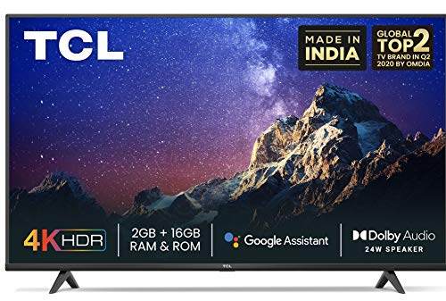 TCL 165.1 cm 4K Ultra HD Android Smart TV