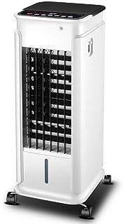 XBSLJ - Aire acondicionado portátil de escritorio de plástico ABS con mando a distancia sin ruido, 4 ruedas, tres velocidades diferentes, bajo consumo de energía para las familias