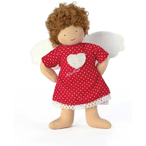 Käthe Kruse 78232 Beschütz-mich-Engel rotes Kleid