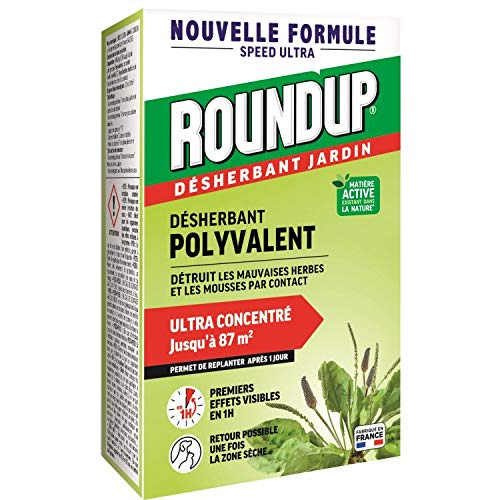 Roundup Désherbant Concentré Multi-usages 200mL