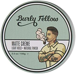 Burly Fellow Texture Paste: Medium Hold With A Dry Finish For Hair Care & Styling (Matte Paste)