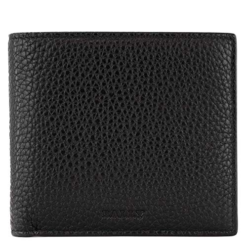 [バリー]BALLY 二つ折り財布 6208103 メンズ ウォレット BLACK [並行輸入品]