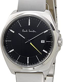 ポールスミス Paul Smith 腕時計 メンズ BV1-216-51 ブラック×シルバー CLOSED EYES [並行輸入品]