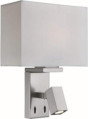 Klighten lámpara de pared para exteriores detector de movimiento 12W iluminación de pared LED, IP65, sensor de luz de pared para jardín/pasillo/camino, 6000K blanco frío, negro: Amazon.es: Iluminación