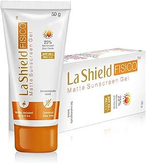 La Shield Fisico SPF 50+ & Pa+++ Transparent Sunscreen Gel, 50 g