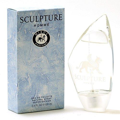 Nikos Cologne for Men, Sculpture, 3.3 Fluid Ounce by Nikos