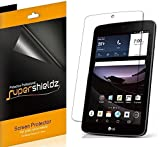 (3 Pack) Supershieldz for LG G Pad F7.0 (LG G Pad F 7.0) (Sprint Only) Screen Protector, High Definition Clear Shield (PET)