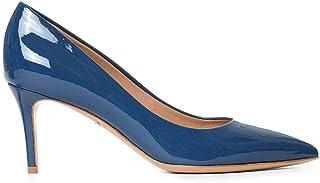 salida de fábrica Salvatore Ferragamo Ferragamo Ferragamo Mujer FIORE7001L435655480 Azul Cuero De Charol Zapatos  en stock