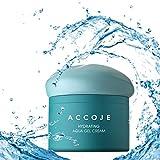[ACCOJE] Best Korean Skin Hydrating Aqua Gel Cream, Moisturizing Cream with Jeju Black Radish Extract, Strengthens and Replenishes Skin Moisture, Natural Skin Care, Paraben & Alcohol Free (50 ml)