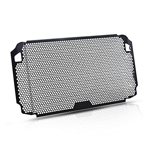 Rumors Radiator Guard Tracer 900 GT Radiator Grille Cubierta Protector Ajuste para Yamaha Tracer 900 TRACER900 ABS 900 GT 900GT 2018 2019 2020 (Color : Black)