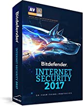Bitdefender Internet Security 2017 3 Device 2 Year PC