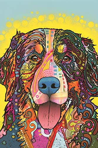 Enjoy it Bernese Mountain Dog Puzzle Featuring Pop Art of Dean Russo - 300 Piece Jigsaw Puzzle for Kids & Adults
