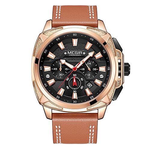 Reloj - Megir - Para Hombre. - TT-MG2128-Gold