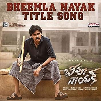 """Bheemla Nayak Title Song (From """"Bheemla Nayak"""")"""