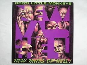 New Maps Of Hell LP (Vinyl Album) UK Cooking Vinyl 1989