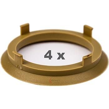 Enzo Dotz 5 x ZENTRIERRINGE DISTANZRING f/ür ALUFELGEN A601571 60,1-57,1 mm AEZ Dezent