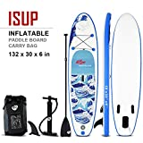 10' Inflatable Stand up Paddle Surfboard with Bag Sporting Goods Water Sports Surfing Surfboard Outdoor Recreation Beginners for Adults Boating Outdoors Shortboards Longboards.