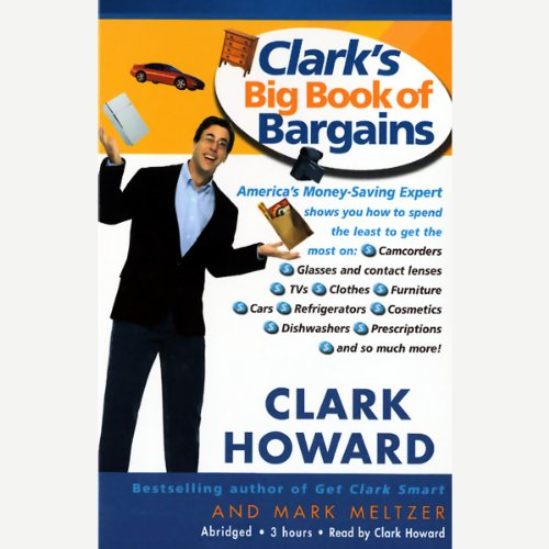 Clark's Big Book of Bargains audiobook cover art