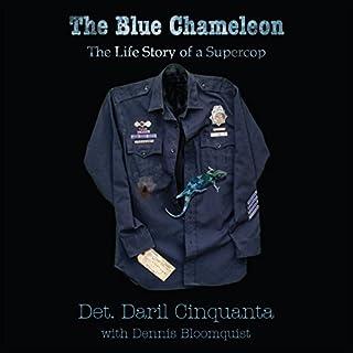 The Blue Chameleon audiobook cover art