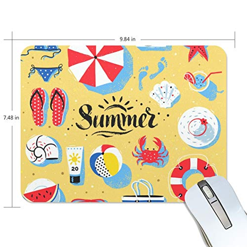 playroom Game Mouse pad Design Beach Summer Extended Ergonomic for Computers Mouse mat Custom-Made
