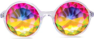 Xtra Lite Kaleidoscope Glasses Lightweight Glass Crystal EDM Festival Diffraction
