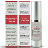 3 Peptide Firming Serum For Skin & Face With Hyaluronic Acid & Collagen - Anti Aging, Repair Wrinkles & Tightens Neck & Eyes, Reduces Dark Spots (1 Bottle) Step 1