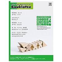 ブラザー・ジョルダン 積木遊びのガイドブック BJ10021