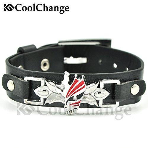 CoolChange Bleach PU-Leder Armband mit Bleach Maske aus Metall
