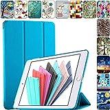 DuraSafe Cases for iPad Mini 3/2 / 1-7.9 Inch [ A1432 A1454 A1455 A1489 A1490 A1491 A1599 A1600 ] Smart Cover - Blue (UltraSlim)